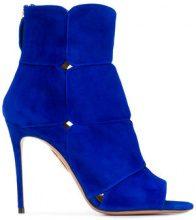 Aquazzura - Lucrezia bootie sandals - women - Suede/Leather - 36, 37, 40 - BLUE