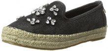 XTIBlack Textile Ladies Shoes . - Espadrillas Donna , nero (nero (nero)), 41 EU