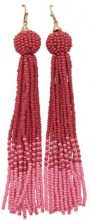 ONLY Tassel Earrings Women Red