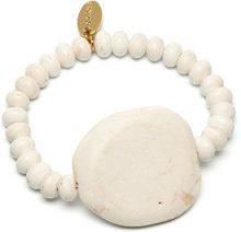FASHIONNECKLACEBRACELETANKLET, colore: bianco sporco, cod. LILY373000