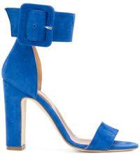 Paris Texas - Sandali con fascia alla caviglia - women - Suede/Leather - 36, 37, 40, 38.5 - BLUE