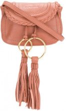 See By Chloé - Borsa clutch - women - Leather/Cotton - OS - PINK & PURPLE