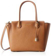Michael Kors Mercer, Borsa a Spalla Donna, Marrone (Luggage), 30.5x25.4x16.5 cm (W x H x L)
