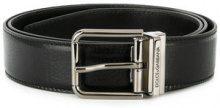 Dolce & Gabbana - Cintura con fibbia - men - Leather - 90, 95, 100 - BLACK