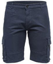 ONLY & SONS Cargo Shorts Men Blue
