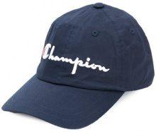 Champion - Cappello da baseball con logo ricamato - men - Cotton - One Size - BLUE