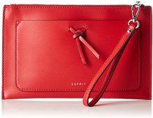 ESPRIT 028ea1o038 - Pochette da giorno Donna, Rosso (Red), 1x15x24 cm (B x H T)