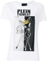Philipp Plein - T-shirt 'Bambi' - women - Cotton - XS, S, M - WHITE