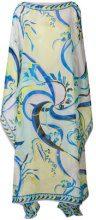 Emilio Pucci - Kaftano stampato - women - Silk - OS - BLUE