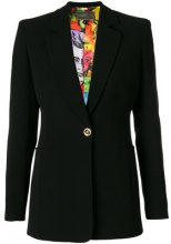Versace - Marilyn blazer - women - Silk/Viscose - 38, 40, 42, 44 - BLACK