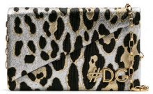 Dolce & Gabbana - DG Girls clutch bag - women - Cotone/Acrylic/Polyester/Viscose - One Size - Metallizzato