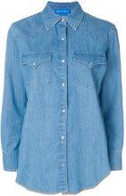 Mih Jeans - denim shirt - women - Cotton - S, M - BLUE