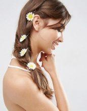 ASOS - Fermaglio per capelli con margherita e sole