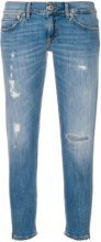 Dondup - Jeans con strappi - women - Cotone/Polyester/Spandex/Elastane - 26, 27, 30, 29, 31 - Blu