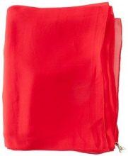 Sciarpa Patrizia Pepe  viscose scarf festival red