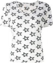 Chinti & Parker - T-shirt con stampa a stella - women - Polyester/Viscose - XS, S, M, L - WHITE