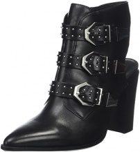 Bronx BX 1217 Bamericanax, Scarpe Col Tacco con Cinturino Dietro la Caviglia Donna, Schwarz (Black 01), 37 EU