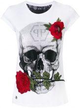 Philipp Plein - Jenkins Mallory T-shirt - women - Cotton - S - WHITE