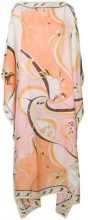 Emilio Pucci - floral print kaftan dress - women - Silk - One Size - MULTICOLOUR
