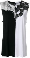 Marcelo Burlon County Of Milan - Top 'Snakes Wings' - women - Cotton - S, M, XS, L - WHITE