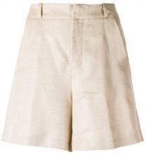 Tufi Duek - pockets shorts - women - Linen/Flax/Viscose - 36, 40, 42 - unavailable