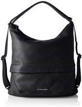 Mandarina Duck Slide Leather 2.0 Tracolla - Borse a spalla Donna, Schwarz (Black), 11x32x36 cm (B x H T)