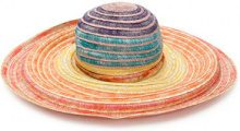 Missoni Mare - Cappello estivo a righe - women - Viscose/Straw/Rayon/Polyester - S, M - MULTICOLOUR