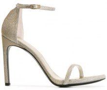 Stuart Weitzman - Nudist Song sandals - women - Lurex/Leather/rubber - 35, 39, 40, 41 - METALLIC