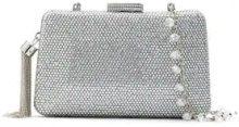 Serpui - embellished clutch - women - Polyester - OS - GREY