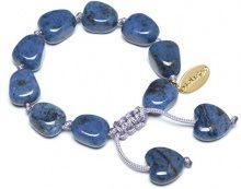 FASHIONNECKLACEBRACELETANKLET, colore: blu, cod. HANNAH369000