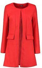 Louise Collarless Wool Look Coat