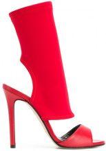 Marc Ellis - Sandali a calzino - women - Leather/Neoprene - 37, 38, 39 - RED