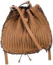 Michael Kors Collection - Maldives drawstring shoulder bag - women - Calf Leather - OS - BROWN