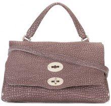 Zanellato - textured tote bag - women - Leather - One Size - BROWN