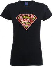 DC Comics - Maglietta, Manica corta, Donna, nero (Black), S