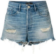 3X1 - Shorts 'W2 Mason' - women - Cotton - 27 - BLUE