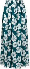 Simonetta Ravizza - Gabri floral print maxi skirt - women - Viscose - 40 - BLUE