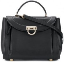 Salvatore Ferragamo - Sofia small tote bag - women - Calf Leather - One Size - BLACK