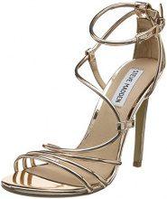 Steve Madden Smith Sandal, Scarpe con Cinturino Alla Caviglia Donna, Gold (Rose Gold), 40 EU
