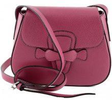 Borsa a tracolla Dream Leather Bags Made In Italy  Borsa A Spalla In Vera Pelle Colore Fucsia - Pelletteria Toscana