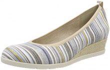 Tamaris 22301, Scarpe con Tacco Donna, Multicolore (Blue Comb), 37 EU