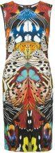 Roberto Cavalli - printed fitted dress - women - Spandex/Elastane/viscose - 40, 44, 48, 46, 42 - WHITE