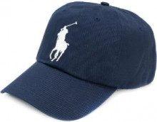 Polo Ralph Lauren - Cappello da baseball ricamato - men - Cotton/Leather/Polyester - One Size - BLUE