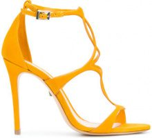 Schutz - Sandali con fascette - women - Leather - 39, 40, 41 - YELLOW & ORANGE