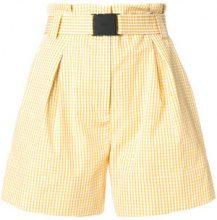 Nº21 - Shorts a quadretti - women - Cotton - 42 - YELLOW & ORANGE