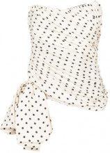 Redemption - strapless draped top - women - Silk/Polyamide/Spandex/Elastane - 42, 44 - WHITE