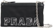 Prada - Pochette con logo - women - Polyamide - One Size - BLACK