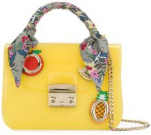 Furla - Metropolis Candy bag - women - Polyurethane - One Size - YELLOW & ORANGE