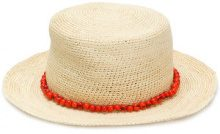 Sensi Studio - Cappello 'Acai' - women - Straw - M - BROWN