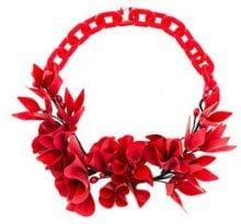 Isabel Marant - Collana 'Honolulu' - women - Acrylic/Plastic - OS - Rosso